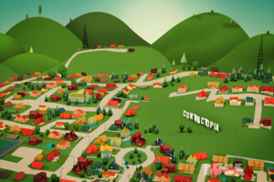 contractopia town city idyllic service magic